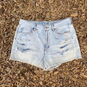 Articles of Siciety Distressed Cut Off Shorts